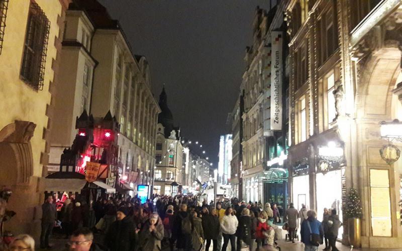 莱比锡圣诞市场   Foto照片: ©LEIPZIGcalling