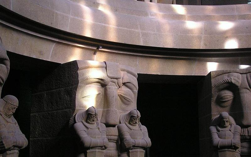 Monument to the Battle of the Nations, crypt