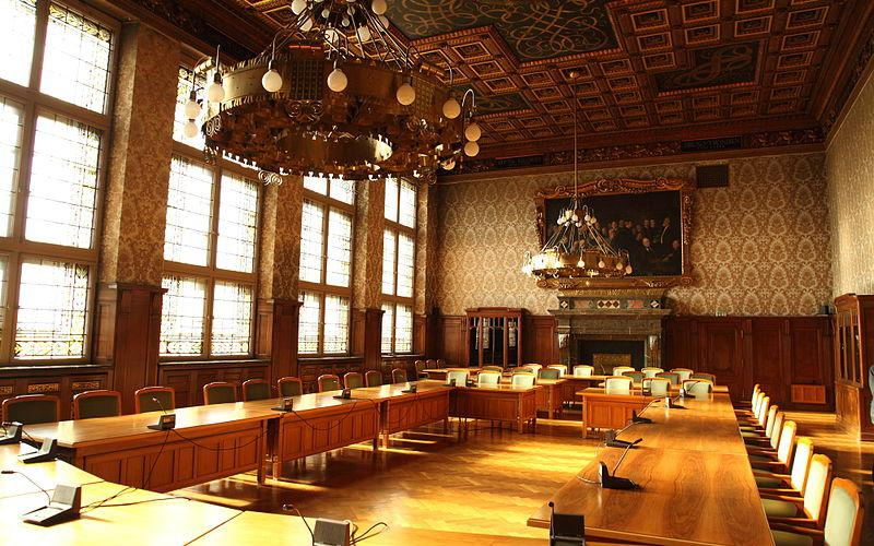 莱比锡新市政厅: 会议厅 | Neues Rathaus Leipzig: Sitzungssaal