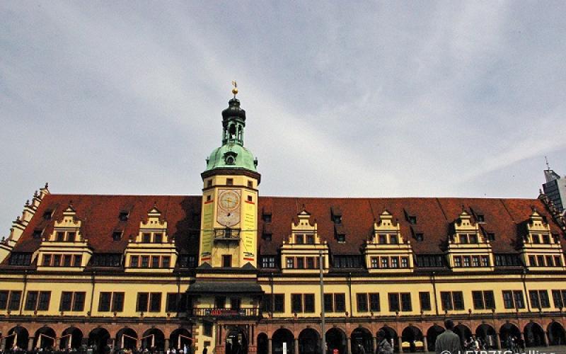 老市政厅 莱比锡 Markt 1  文艺复兴, Bach, 1556, Hieronymus Lotter