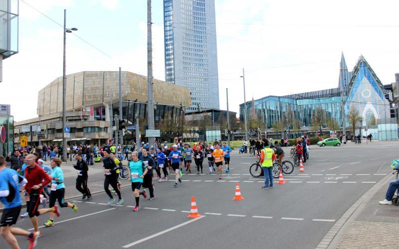 莱比锡马拉松比赛 | 照片来源: Veranstalter