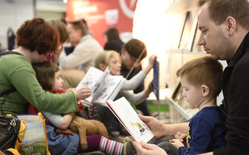 Leipziger Buchmesse 2016, Foto: uk