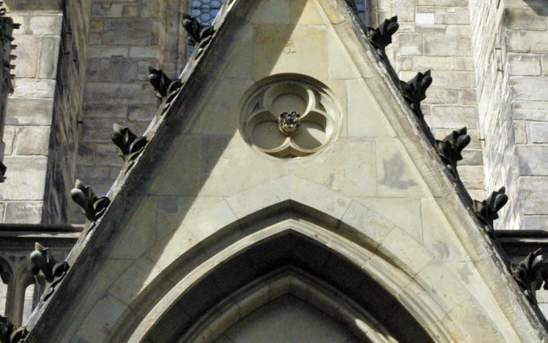 托马斯教堂, 建筑