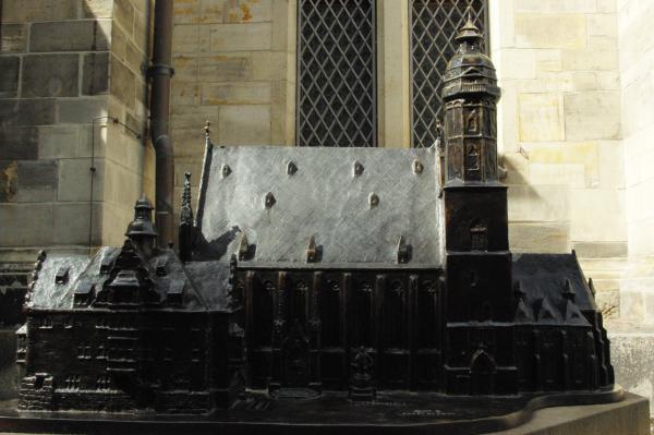 Leipzig | Thomaskirche | Tastmodell