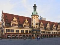 Old Town Hall Leipzig, Markt 1, Renaissance, Bach, 1556, Hieronymus Lotter